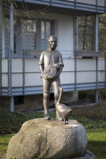 Hans-Werner Könecke: Hans im Glück (Foto: KUNST@SH/Jan Petersen, 2021)