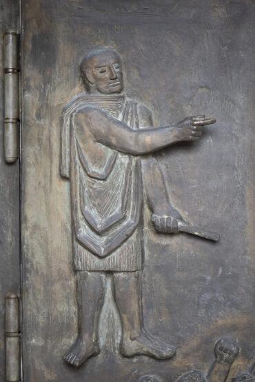 Fritz Fleer: Südportal St. Katharinen (Foto: KUNST@SH/Jan Petersen, 2021)