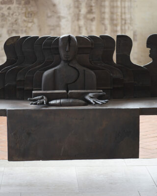 Helmut Lander: Leib Christi-Altar (Foto: KUNST@SH/Jan Petersen, 2021)