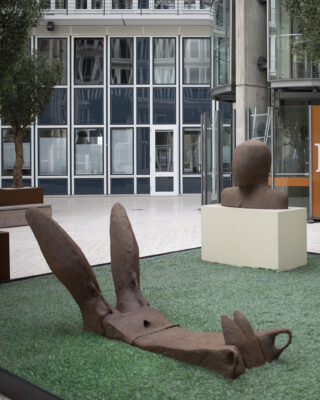 Lothar Fischer: Figurenensemble (Foto: KUNST@SH/Jan Petersen, 2021)