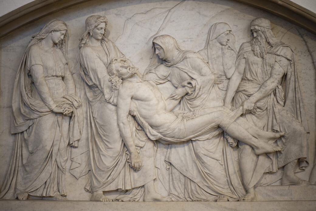 Hermann Schubert: Grablegung Jesu (Foto: KUNST@SH/Jan Petersen, 2021)