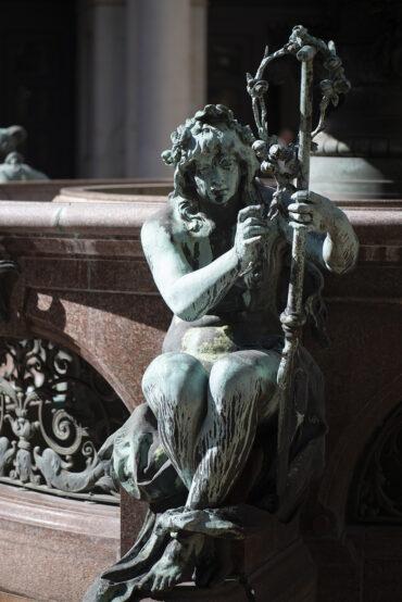 Joseph von Kramer: Hygieia-Brunnen (Foto: KUNST@SH/Jan Petersen, 2021)