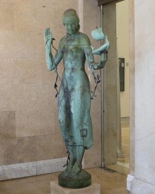 Richard Emil Kuöhl: Frauenfigur (Foto: KUNST@SH/Jan Petersen, 2021)