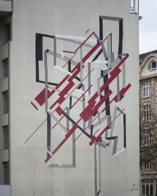 Heiko Zahlmann und Clemens Behr: Wandbild (Foto: KUNST@SH/Jan Petersen, 2021)