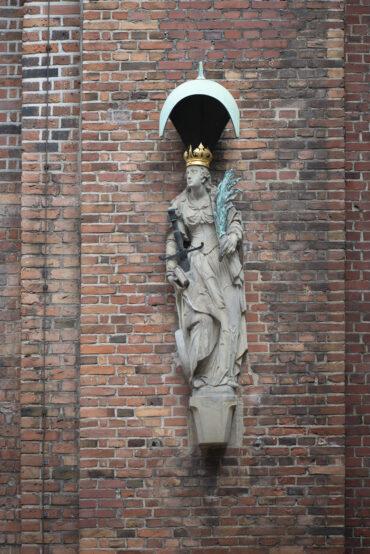 Heilige Katharina (Foto: KUNST@SH/Jan Petersen, 2021)