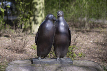 Hans-Werner Könecke: Pinguine (Foto: KUNST@SH/Jan Petersen, 2021)
