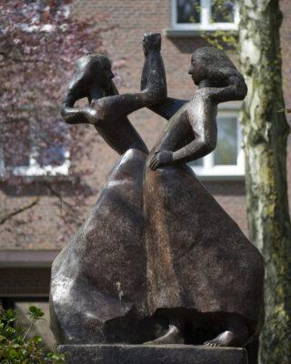 Martin Irwahn: Tanzende Mädchen (Foto: KUNST@SH/Jan Petersen, 2021)