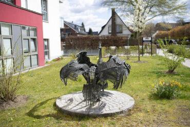 Karl Heinz Engelin: Zwei Vögel (Foto: KUNST@SH/Jan Petersen, 2021)