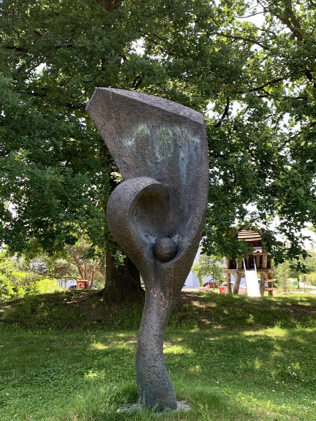 Ulrich Rölfing: Lebensbaum (Foto: KUNST@SH/Jan Petersen, 2021)