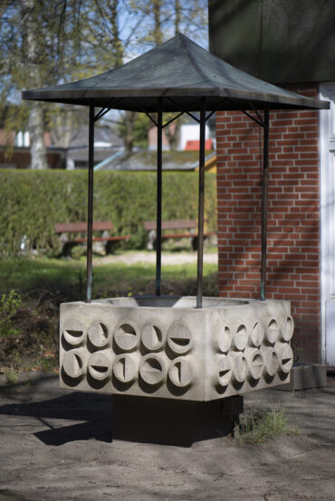 Georg Engst: Brunnen (Foto: KUNST@SH/Jan Petersen, 2021)