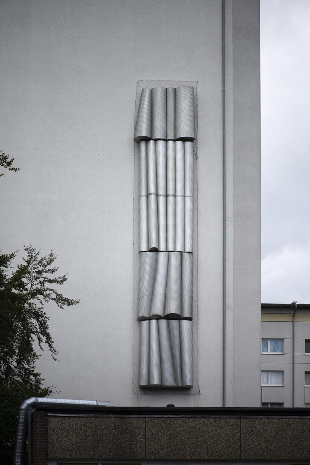 Georg Engst: Formenspiele II (Foto: KUNST@SH/Jan Petersen, 2021)