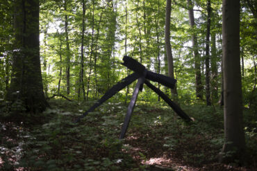 Jan Koblasa: Vier apokalyptische Reiter (Foto: KUNST@SH/Jan Petersen, 2021)