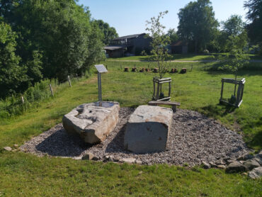 Rainer Fest: Brunnen für Bissee (Foto: KUNST@SH/Jan Petersen, 2021)