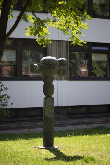 Georg Engst: Formen im Gleichgewicht (Foto: KUNST@SH/Jan Petersen, 2021)