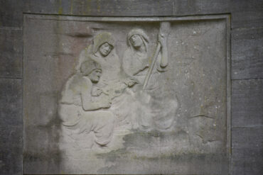 Adolf von Hildebrand: Mausoleum Familie Martius (Foto: KUNST@SH/Jan Petersen, 2021)