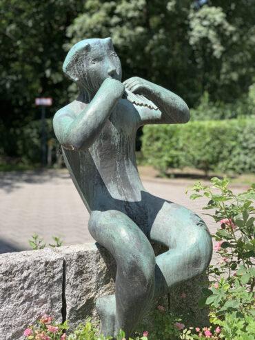 Karl Heinz Engelin: Panflötenspieler (Foto: KUNST@SH/Jan Petersen, 2021)