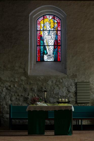 Leifur Breidfjord: Zwei Altarfenster (Foto: KUNST@SH/Jan Petersen, 2021)
