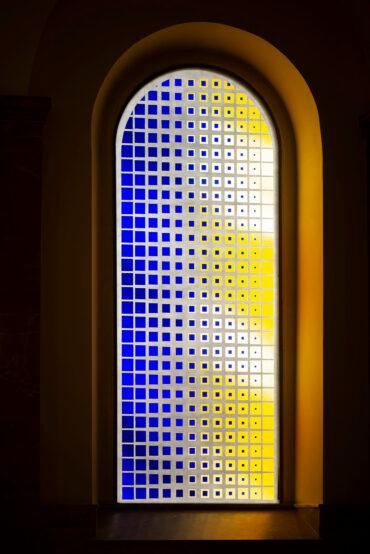 Jochem Poensgen: Zwei Chorfenster (Foto: KUNST@SH/Jan Petersen, 2020)