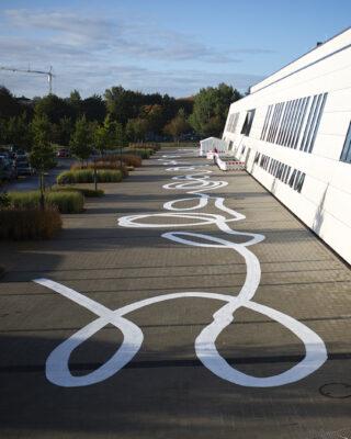 Hannah Bohnen: liquid lines (Foto: KUNST@SH/Jan Petersen, 2021)