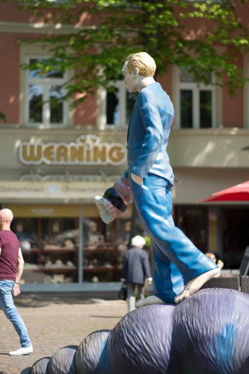 Martin Wolke: Muschelläufer, (Foto: KUNST@SH/Jan Petersen, 2017)