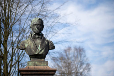 Denkmal für Marcus Hartwig Holler (Foto: KUNST@SH/Jan Petersen, 2020)