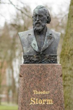 Adolf Brütt: Theodor-Storm-Büste, (Foto: KUNST@SH/Jan Petersen)