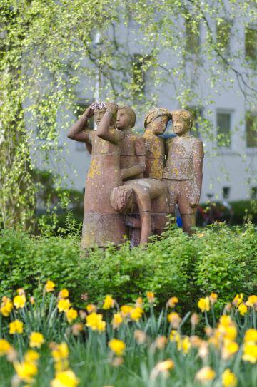 Alwin Blaue: Blumenpflücker, (Foto: KUNST@SH/Jan Petersen)
