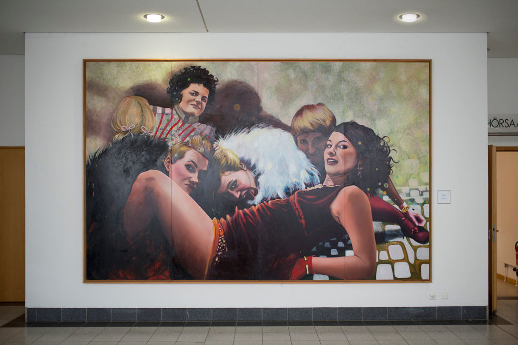 Anna Lena Straube: Kunsttherapie, (Foto: KUNST@SH/Jan Petersen)