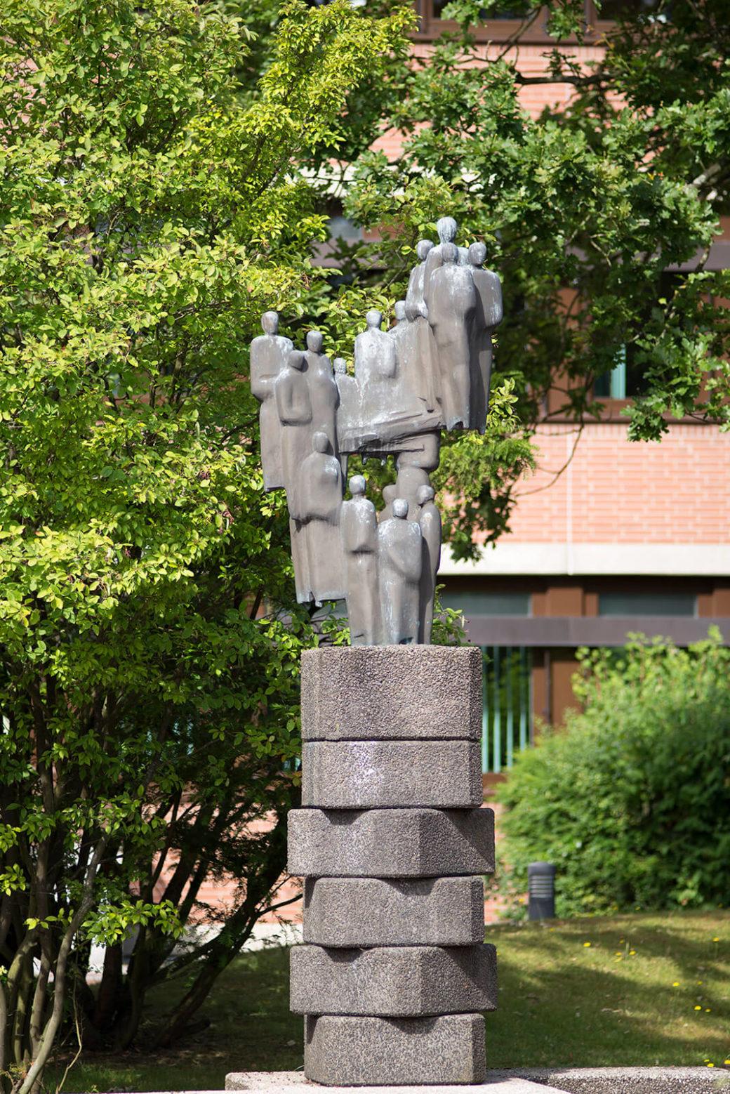 Siegfried Assmann: Bürger einer Stadt, (Foto: KUNST@SH/Jan Petersen)