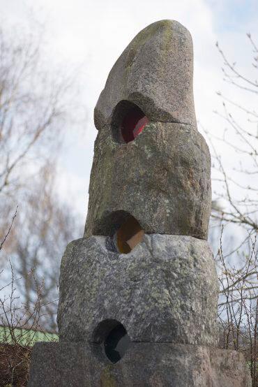 Ben Siebenrock: Archaische Ampel, (Foto: KUNST@SH/Jan Petersen)