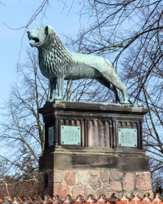 Braunschweiger Löwe in Ratzeburg, (Foto: KUNST@SH/Jan Petersen)