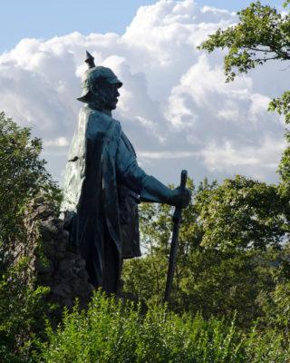 Adolf Brütt: Bismarck-Denkmal, (Foto: KUNST@SH/Jan Petersen)