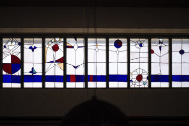 Emil Wachter: Lichtband mit Ornamenten (Foto: KUNST@SH/Jan Petersen, 2020)