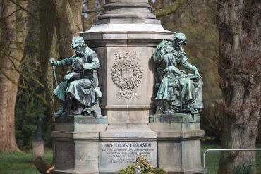 Denkmal für Uwe Jens Lornsen (Foto: KUNST@SH/Jan Petersen)