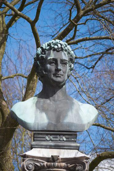 Denkmal für Uwe Jens Lornsen (Foto: KUNST@SH/Jan Petersen, 2016)