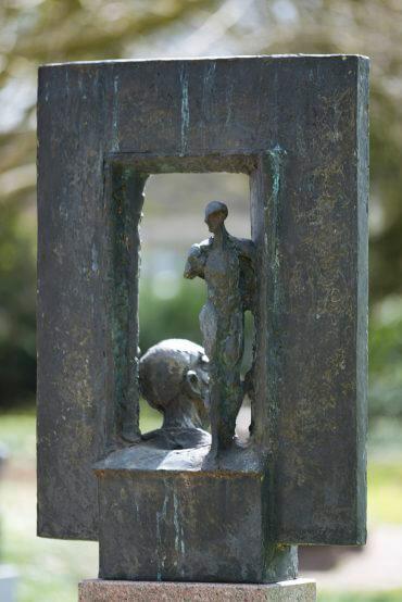 Doris Waschk-Balz: Stele Fenster, (Foto: KUNST@SH/Jan Petersen)