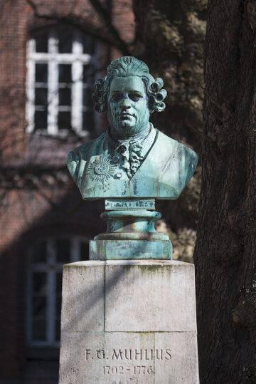 Eduard Lürssen: Geheimrat Friedrich Gabriel Muhlius, (Foto: KUNST@SH/Jan Petersen, 2017)