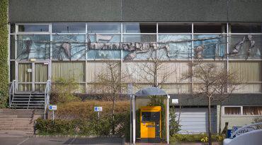 Ekkehard Thieme: Bildfenster Stadthalle, (Foto: KUNST@SH/Jan Petersen, 2016)