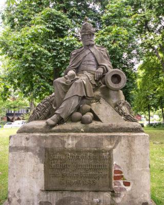 Engelbert Peiffer: Denkmal für Major Jungmann, (Foto: KUNST@SH/Jan Petersen)