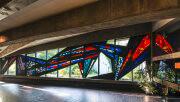 Ernst Günter Hansing: Bleiglasfenster im Eivind-Berggrav-Zentrum