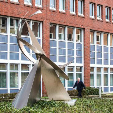 Ernst Günter Hansing: Raum-Eklat, (Foto: KUNST@SH/Jan Petersen)