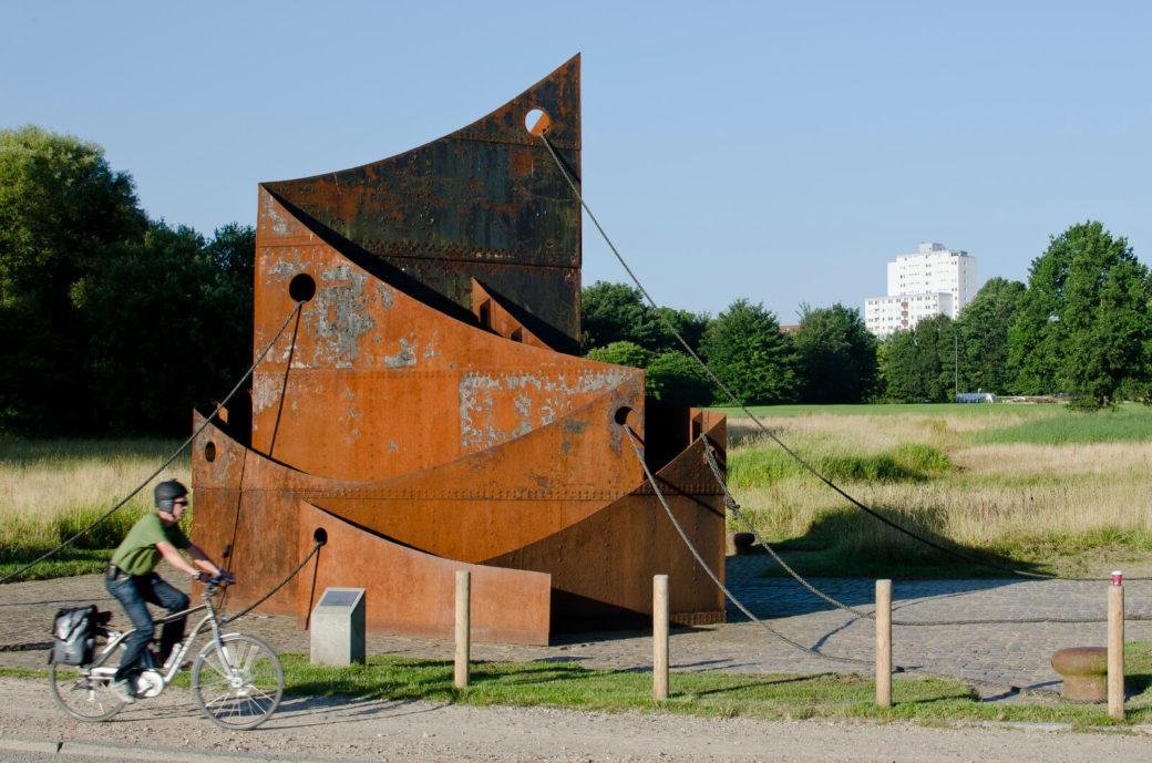 Felix Fehlmann: Hafen 77, (Foto: KUNST@SH/Jan Petersen)