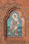 Fritz Adolf Becker: Christus rettet Petrus