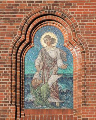 Fritz Adolf Becker: Christus rettet Petrus, (Foto: KUNST@SH/Jan Petersen)