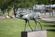 Fritz Behn: Schreitende Antilope