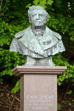 Fritz Schaper: Carl-Loewe-Denkmal, (Foto: KUNST@SH/Jan Petersen)