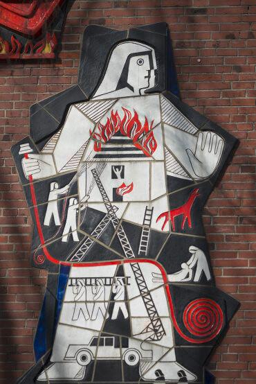 Gertrud Wiebke Schröder: St. Florian, (Foto: KUNST@SH/Jan Petersen, 2017)