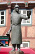 Karlheinz Goedtke: Bürgerbrunnen für Hein Lüth