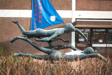 Karlheinz Goedtke: Zwei Schwimmer, (Foto: KUNST@SH/Jan Petersen)