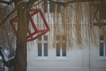 HD Schrader: Cube+Tree, (Foto: KUNST@SH/Jan Petersen)